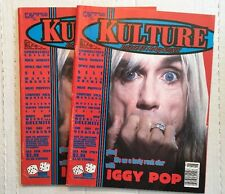 2 Kulture Deluxe Magazines Vol. 1 Issue #2 Iggy Pop Cover San Diego Rock & Punk