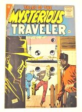 TALES OF THE MYSTERIOUS TRAVELER CHARLTON #1 1956 SHARP VG/FN ,MUUMY,GENIE,MORE
