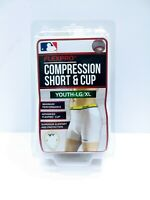 NEW* Flexpro Compression Short And Cup, Youth Large/XL
