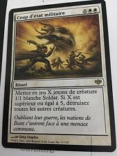 MTG MAGIC CONFLUX MARTIAL COUP (FRENCH COUP D'ETAT MILITAIRE) NM
