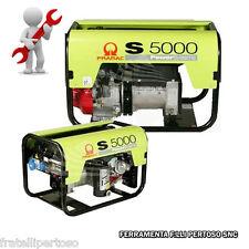 GENERATORE PRAMAC S5000 TRIFASE -  MANUALE CONN (PREDISPOSTO AUTOMATICO AMF)