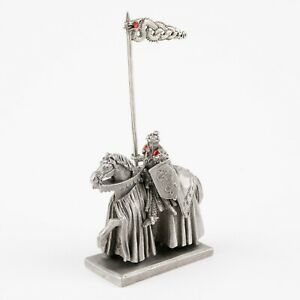 King Arthur of the Britons | Vintage Fantasy Figure by Rawcliffe Pewter