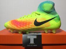 Nike Magista Obra II FG ~ 844595 708 ~ Regno Unito taglia 10 ~ EURO 45