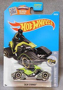 2016 Hot Wheels Car 160/250 Snow Stormer - K/L Case
