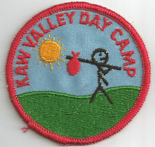 Kaw Valley Girl Scout Council Day Camp Patch (now GS of NE Kansas & NW Missouri)