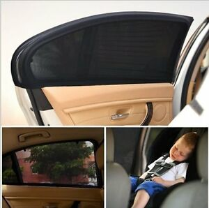 2 xCar Side Rear Window Sunshade Sun Visor Shade Mesh Cover Shield UV Protector