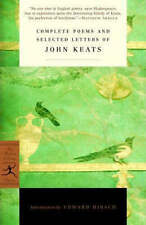 Compete Poems and Selected Letters of John Keats (Modern Library), Edward Hirsh