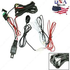 40A 12V Wiring Harness Relay Kit ON/OFF Switch Off Road Fog Light LED Work Bar