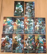 2010 NFL DOLPHINS UNUSED FOOTBALL SEASON SUITE TICKET LOT OF 10....ENTIRE SEASON