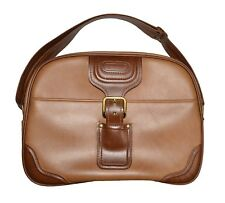 Samsonite Vintage Overnight Bag / Carry On - Brown w/Gold Hardware - EXCEPTIONAL