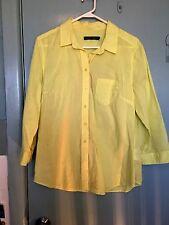 Sportscraft yellow shirt in size 14