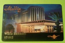 The Aladdin Hotel Casino Las Vegas, Nevada Slot Card Great For Any Collection!