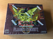 Yugioh Flaming Eternity Booster Box Unlimited Factory Sealed!