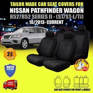Nissan Pathfinder Wagon Seat Covers R52/R52 SERIES II-(ST/ST-L/Ti) - 10/2013-ON