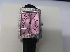 Ladies Lancaster Italy watch. Stainless steel quartz wrist watch-Quartz movement