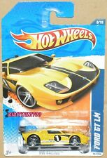 HOT WHEELS 2010 HW RACING FORD GT LM YELLOW