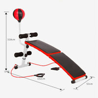 ADJUSTABLE DECLINE INCLINE HOME GYM WEIGHT BENCH SIT UP ABDOMINAL AB FITNESS