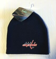 Washington Capitals Knit Beanie Toque Winter Hat Skull Cap NEW NHL Blue