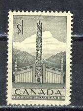 1953 #321 $1.00 QUEEN ELIZABETH II TOTEM POLE F-VFNH