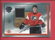 2003-04 PACIFIC Luxury Suite #95 Joni Pitkanen Philadelphia Flyers Auto Rookie