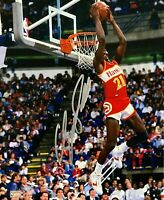 Dominique Wilkins Autographed Signed 8x10 Photo ( HOF Hawks ) REPRINT