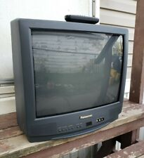 "Panasonic CT 20G14A - 20"" CRT TV Retro Gaming Television Vintage ORIGINAL REMOTE"