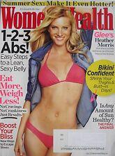 "HEATHER MORRIS ""GLEE"" June 2011 WOMEN'S HEALTH Magazine"