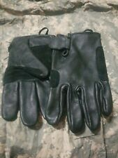 U.S MILITARY Mens & Womens Light Duty Utility LEATHER GLOVES Sz LARGE Promotions