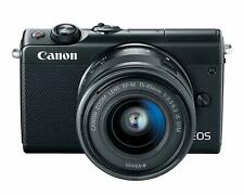 Canon EOS M100 Mirrorless Camera w/ 15-45mm Lens - Wi-Fi, Bluetooth, and NFC