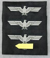 lot de 3 insignes armée de terre Panzer allemande 2e guerre mondiale char,repro