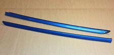 RENAULT CLIO MK2 01-05 3DR HATCH REAR GUTTER TRIM ROOF STRIP PAIR
