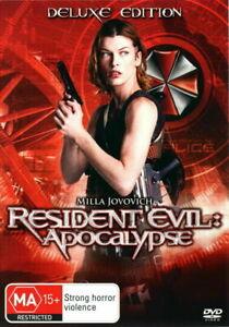 Resident Evil Apocalypse DVD Deluxe Edition - AUSTRALIAN REGION 4 PAL