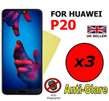 3x HQ MATTE ANTI GLARE SCREEN PROTECTOR COVER SAVER FILM GUARD FOR HUAWEI P20