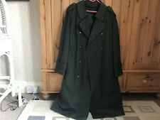 BNWOT SERGIO ROSSI Menswear Teal Green Trench Coat Quilted Lining UK 44 Size L