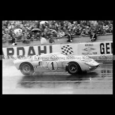 #pha.030966 Photo FORD GT40 KEN MILES 24 HEURES DU MANS 1966 LE MANS '66