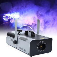 1500W DMX Xmas Fog Rauch LED Nebelmaschine Nebel Maschine & Fernbedienun