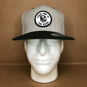 Phish Possum Snapback Hat (Heather Gray/Black)