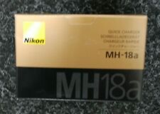 NIKON MH-18a MH-18 Charger EN-EL3 EN-EL3a EN-EL3e Battery **uk plug** UK STOCK**