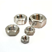 50 x M10 (10mm) A2 STAINLESS STEEL HEX FULL NUTS METRIC THREAD PITCH 1.50 *