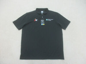 NEW Callaway Polo Shirt Adult Extra Large Black Golfing Golfer Rugby Mens B02