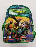 "Teenage Mutant Ninja Turtles 16"" Kids School Backpack boys Book Bag Original"