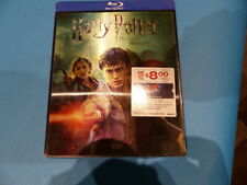 HARRY POTTER AND THE DEATH VALLEY HALLOWS PART 2 BLU-RAY NEW