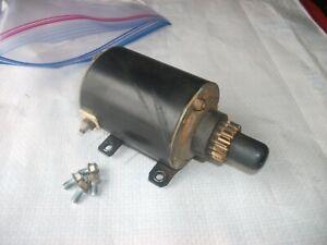 Tecumseh HM80 8 hp  Electric starter off Generator