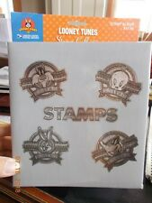 "Unused USPS Stamp Album Featuring Looney Tunes, Space for 240 Stamps 1.5"" x 1.5"""