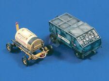 Verlinden 1/48 USAF Liquid Oxygen Cart and Liquid Nitrogen Servicing Cart 404