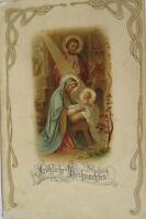 """"""" Noël, Sainte, Crèche """" 1916 (22182)"""
