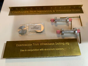 Exactoscale 7mm Jig Scale And Parts