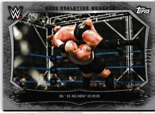 JBL Big Show 2015 Topps WWE Undisputed Cage Evolution Moments Silver #CEM7 16/25