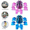 7Pcs/Set Skate Cycling Bike Safety Helmet Knee Elbow Pads Boys & Girls Kids