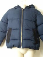 BOYS STELLA MCCARTNEY AGE 5 YEARS BLUE HOODED PADDED QUILTED COAT JACKET KIDS